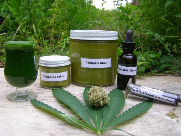 Cannabis or Marijuana Oil Preparation in a Convenient Way