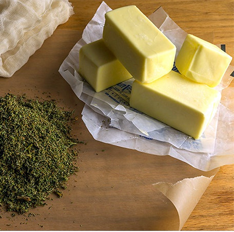 weed butter ingredients