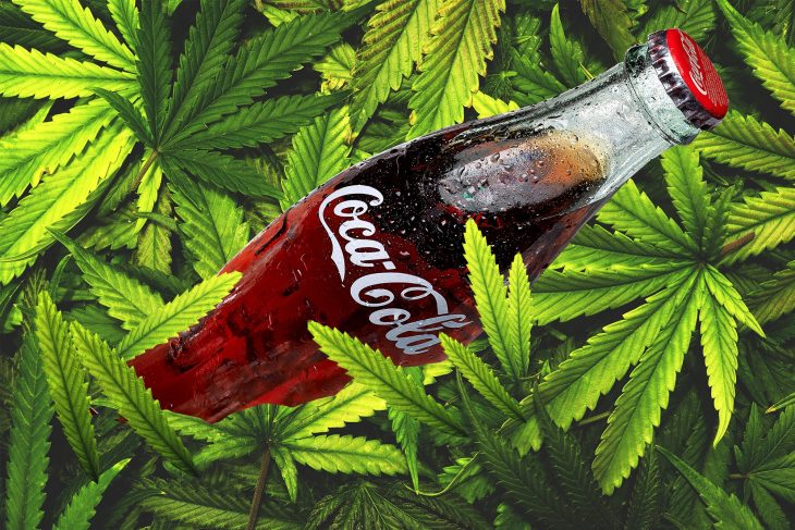 Coca-Cola may enter the world of Marijuana